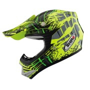 CASCO SHIRO INFANTIL MX-306 VERDE