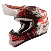 CASCO SHIRO INFANTIL MX-306 ROJO