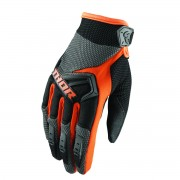 GUANTES INFANTILES DE CROSS THOR ORANGE