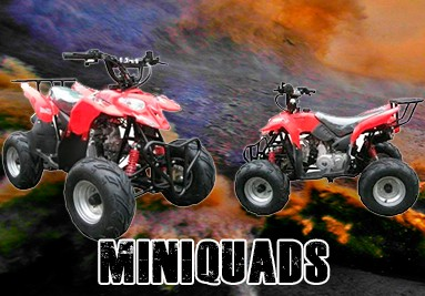 Tienda de mini quads en Madrid, venta Quads